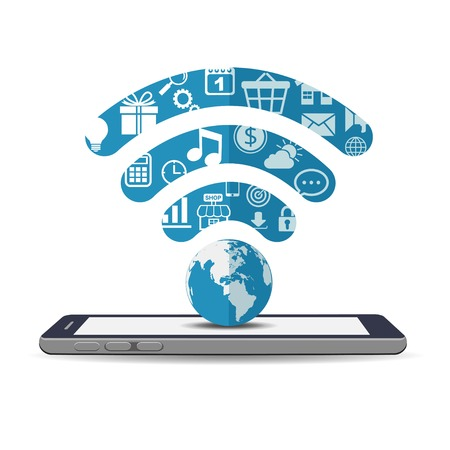 wifi: WiFi signal with applications on smartphone