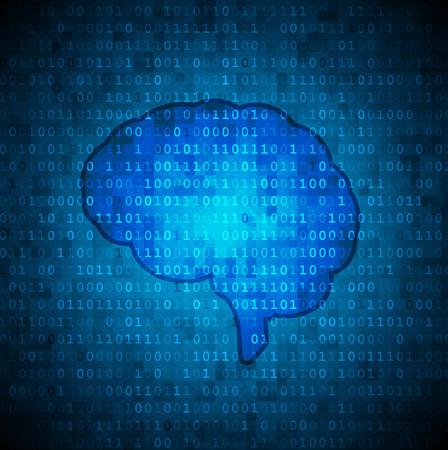 Binary brain background