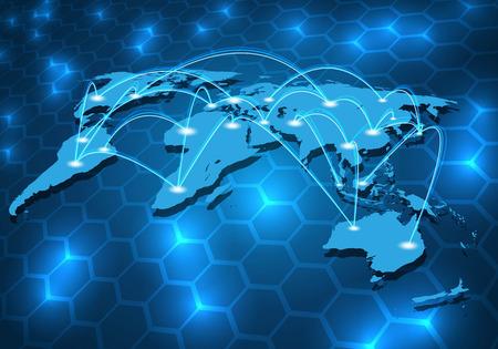 グローバル ネットワーク接続のバック グラウンド