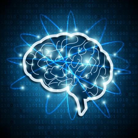 nodes: Brain network Illustration