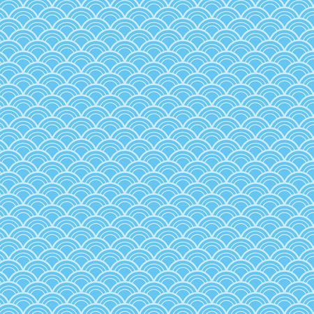 Wave seamless pattern background
