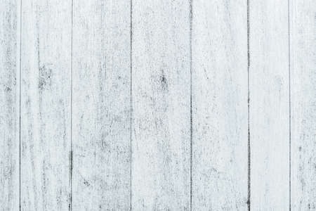 White old wooden fence. Wood plank texture for text design or background.