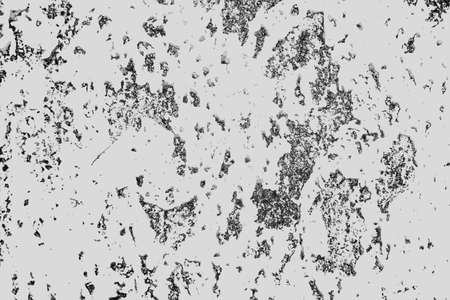 Black and white grunge texture. Abstract pattern of monochrome elements for background or design. Stock Photo