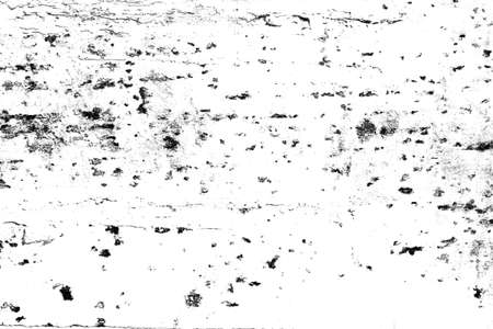 Background of black and white. Abstract pattern of monochrome elements texture. Grunge for design or printing. Banco de Imagens