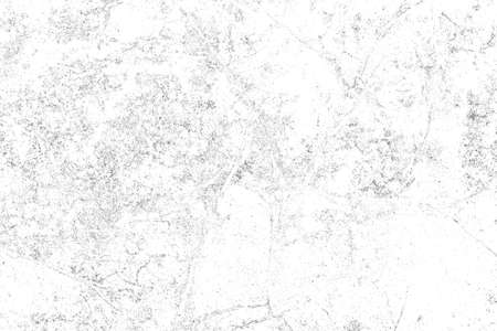 Background of black and white. Abstract monochrome elements texture pattern of cracks, chips, scratches, stains, scuffs. Grunge for design or printing. Stock Photo