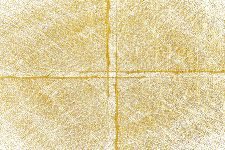 Gold splashes Texture. Brush stroke design element. Gold watercolor textures pattern of cracks, scuffs, chips, stains, ink spots, lines