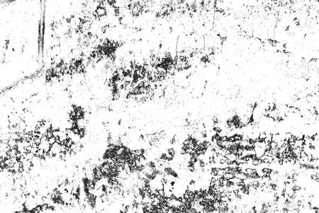 Black and white Texture of cracks, chips, scuffs. Abstract pattern of monochrome elements Banco de Imagens - 122769647