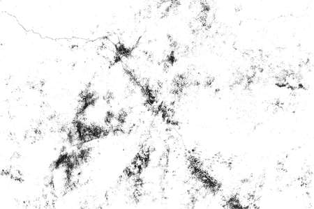 Black and white Texture of cracks, chips, scuffs. Abstract pattern of monochrome elements