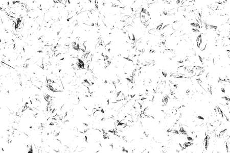 Grunge black and white background. Abstract monochrome pattern of leaf texture. Dark design backdrop surface.