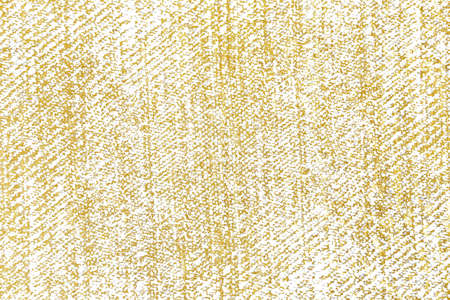 Gold brush stroke design element cloth knitted. Golden texture pattern of weaving fabric background.