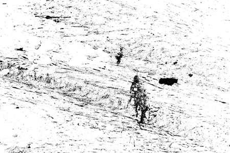 Textura urbana blanco y negro de grunge. Fondo apenado de superposición de polvo desordenado oscuro. Papel pintado abstracto punteado, rayado, ruido y grano.