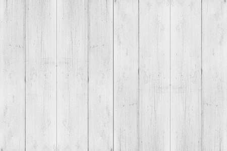 White texture of old wood. wooden wall background with light pattern natural copy space.