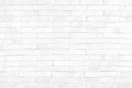 Moderner weißer Backsteinmauerbeschaffenheitshintergrund für Tapeten und grafisches Webdesign.