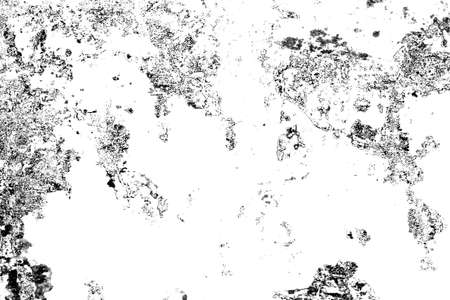 Grunge background of effect the black and white tones. Monochrome abstract texture.