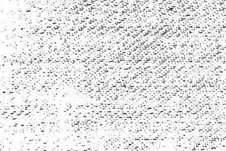 Distressed overlay texture of weaving fabric, cloth knitted. Grunge black and white abstract monochrome background. Standard-Bild