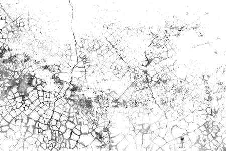 Grunge background of black and white. Abstract monochrome texture. Old vintage surface