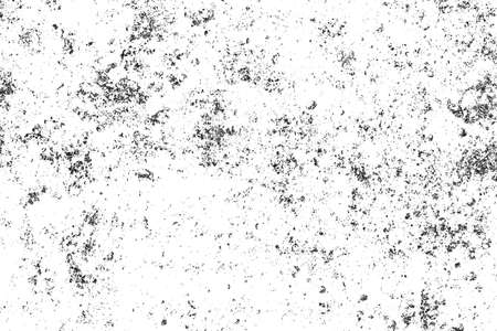 Grunge black and white texture. Abstract monochrome  background pattern of cracks, chips, scratches, stains, scuffs. Vintage old surface
