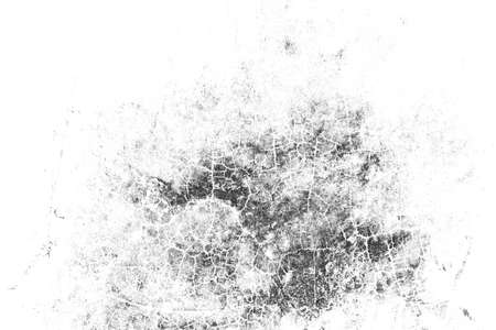 Grunge background of black and white texture. Abstract pattern of elements. Monochrome print and design. Standard-Bild