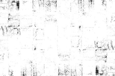 Dark messy dust overlay distress background. Grunge black and white. Abstract monochrome texture of paint, stains, scratched.