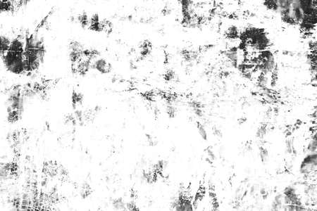 Grunge texture background of black and white. Abstract of scratches, chips, scuffs, cracks.