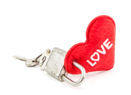 everybody: Everybody  find the key to unlock heart Stock Photo