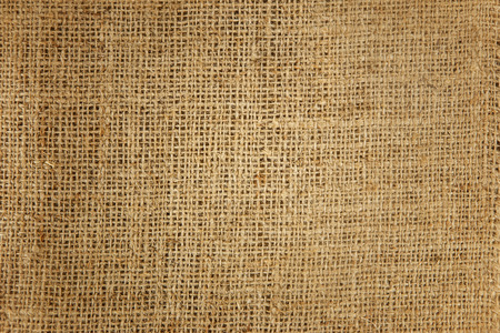 Natural bright brown hemp textured as background Stock Photo