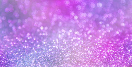 Abstract violet bokeh background - shiny glitter Stock Photo
