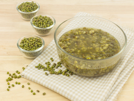 green bean: Dessert from green mung bean - sweet and delicious