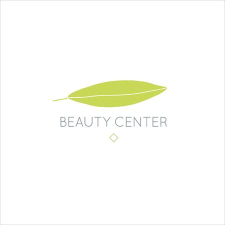 Bellezza disegnata a mano alla moda di vettore, cosmetici biologici, medicina alternativa, logo dell'omeopatia, distintivo, emblema, logotipo. Pianta elegante, logo floreale.