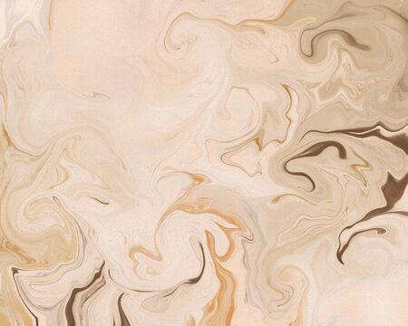 Abstract stylish trendy fluid marble art print. Standard-Bild