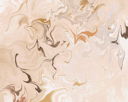 Abstract stylish digital marble backgrounds. Elegant and feminine modern backdrop. Soft neutral pink pattern and texture. Trendy luxury sophisticated art print. Glamorous girly liquid effect wallpaper