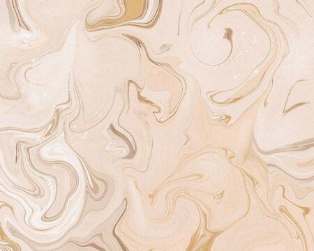 Abstract stylish trendy fluid marble art print. Foto de archivo