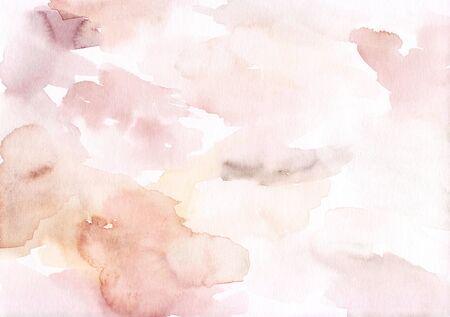 Watercolour art background. Standard-Bild - 142686450
