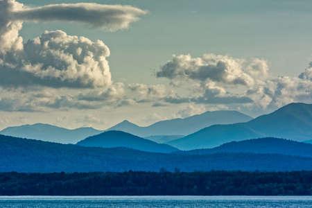 Adirondacks Mountains from Lake Champlain
