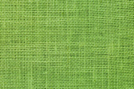 sheeting: natural linen texture  background green.