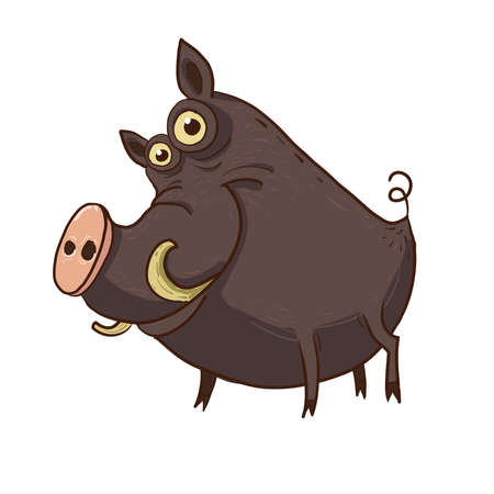 smiling warthog