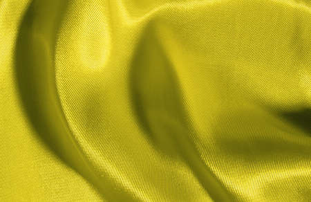 Hintergrund: Hintergrund aus gelber Seide