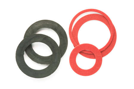 caulk: Seals made of rubber in different sizes