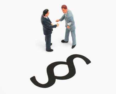 lawful: businessworld, handshake lawful Stock Photo