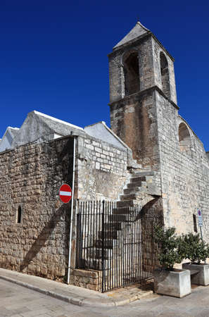 madonna: church Santa Maria della Greca, Madonna della Greca, Locorotondo, Apulia, Italy Stock Photo