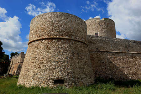 castel: the castle Castel of Manfredonia, Apulia, Italy