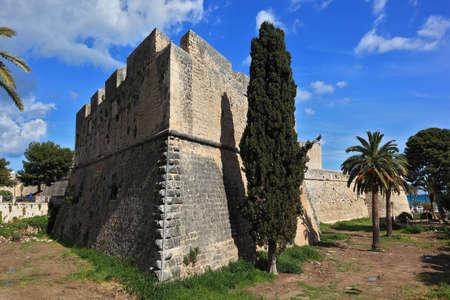 castel: the castle Castel of Manfredonia, Apulia, Italy