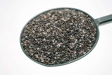 hispanica: Food, seeds of Salvia hispanica, known as Chia