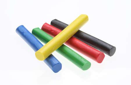 plasticine: colorful Plasticine, Plasticine Toy on white ground