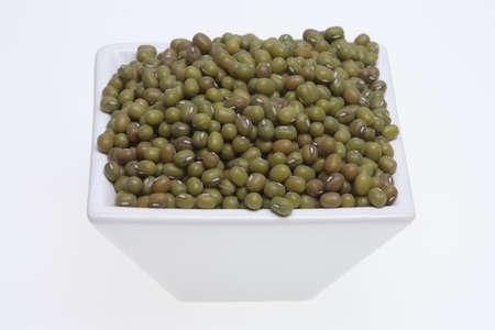 radiata: Mung bean, Vigna radiata, also Jerusalem bean, mung dal