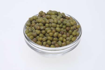 mung bean: Mung bean, Vigna radiata, also Jerusalem bean, mung dal