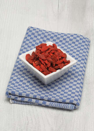 medicinal plant: Goji, goji berries, Common wolfberry, Lycium barbarum or called Chinese wolfberry, a medicinal plant