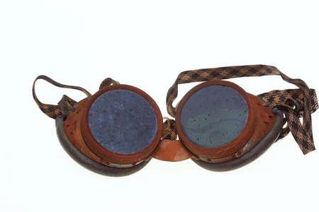 Historische veiligheidsbril voor lassers