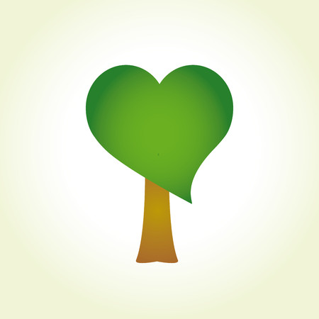 article icon: Tree with heart-shaped foliage Illustration