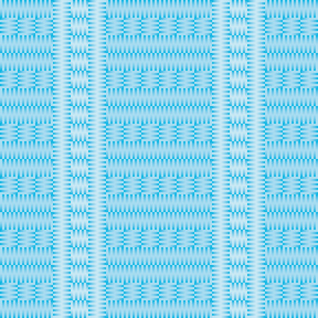 That simulates knitting pattern in light and dark blue color